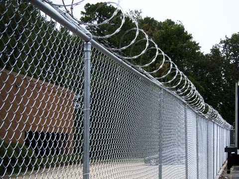 Chain Link Fence Are Also Called Diamond Mesh Is One Of